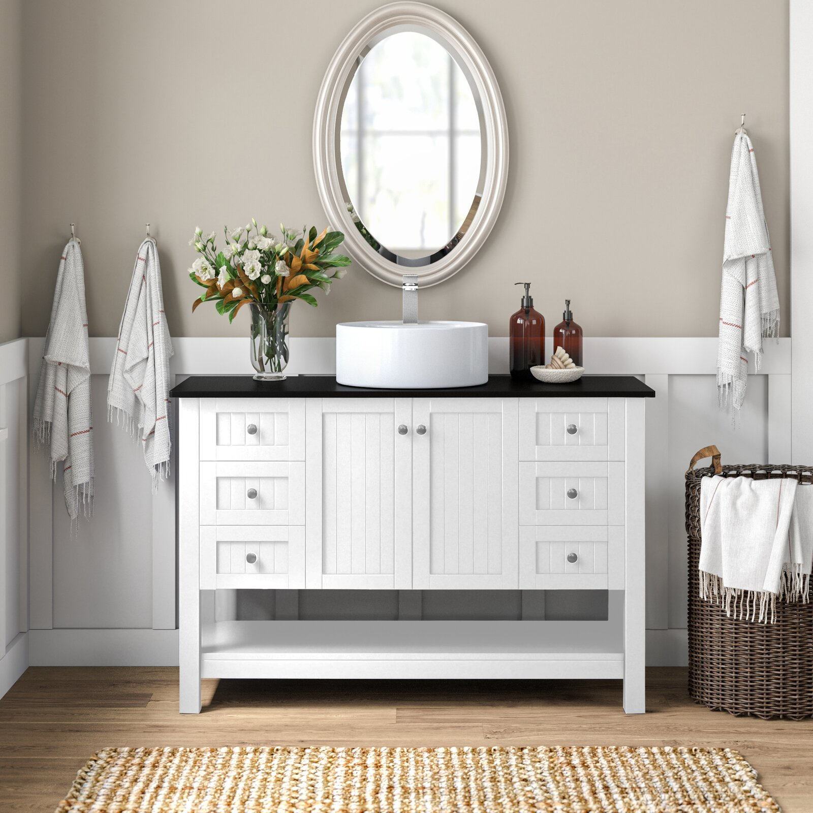 Need An Affordable Bathroom Vanity 12 Places To Shop Hunker